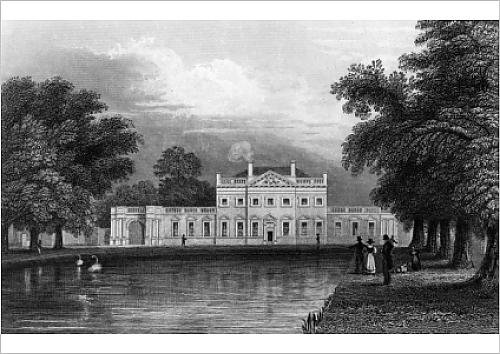 fine-art-print-of-boreham-house-essex-engraved-by-john-rogers-1831-engraving