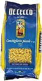 De Cecco - Conchigliette Piccole, Pasta di Semola di Grano Duro - 6 pezzi da 500 g [3 kg]