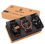 #6: Decode Analogue Analogue Multi-color Dial Men's/Boy's Watch- Combo of 3 Fashionable watches