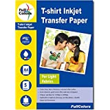 Full Colors 120 GSM T-Shirt Inkjet Transfer Paper Light Fabrics