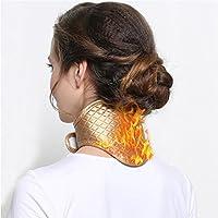 Preisvergleich für Massagekissen Akupressur Elektrische Nackenbänder Wärme Hals Nacken Pflege Wärme-Massage-Gürtel für Hals und Schultern...