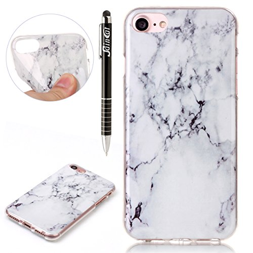 Custodia iPhone 7,iPhone 7 Cover,SainCat Custodia in Morbida TPU Protettiva Cover per iPhone 7,Creative Design Transparent Silicone Case Ultra Slim Sottile Morbida Transparent TPU Gel Cover Shock-Abso crepa