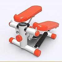 GDSZ Pasarela Stepper Home Mute Pedal Hidráulico Multifunción Mini Escalada Pérdida De Peso Adelgazamiento Ejercicio Pedal Equipment,Orange