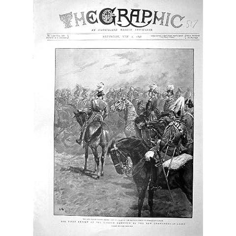 Caballo 1896 del Campo Común de Señor Wolseley Wimbledon de los Guardias de Vida