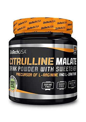 Citrulline Malate pomme verte 300g - Citrulline malate boisson instantanée, boisson en poudre - BiotechUSA