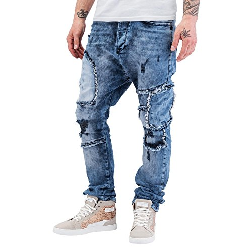 Bangastic Herren Jeans / Antifit Keisuke Blau