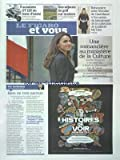 FIGARO ET VOUS [No 21086] du 18/05/2012 - UNE ROMANCIERE AU MINISTERE DE LA CULTURE - AURELIE FILIPPETTI - RIEN DE TRES NORMAL - LE JUBILE IMPERIAL AU CHATEAU DE MALMAISON - 5 SCOOTERS GT 125 AU BANC D'ESSAI - DES SEJOURS DE GOLF SUR MESURE - RENCONTRE AVEC VICTOIRE DE CASTELLANE