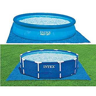 Intex Ground Cloth for Swimming Pools Blue , 472 x 472 cm