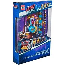 Lego Movie 2 Materiale Scolastico Cancelleria Kit Scuola Cartoleria Kawaii Astuccio Matite Colorate Righello