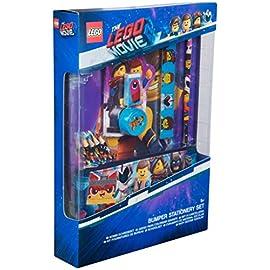 LEGO-Movie-2-Schulbedarf-Kawaii-Set-Briefpapier-fr-Kinder-mit-Etui-Buntstiefe-Notizbuch
