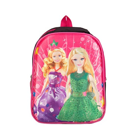 Generic Polyester 5 Ltr Pink School Backpack