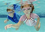cressi swim Kinder Schwimmbrille cobra kid, dunkelblau, DE202022 -