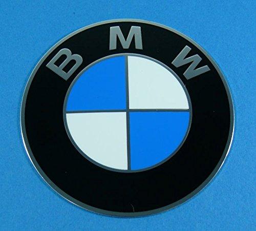 Preisvergleich Produktbild BMW Felgen Emblem 70mm selbstklebend - 1 Stück