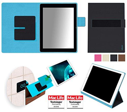 reboon Hülle für Blaupunkt Endeavour 1000 HD Tasche Cover Case Bumper | in Schwarz | Testsieger