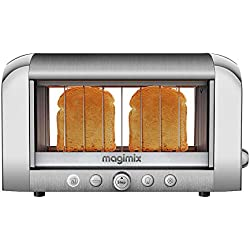Magimix 11526 ToastVision Grille-Pain 4 Tranches Inox