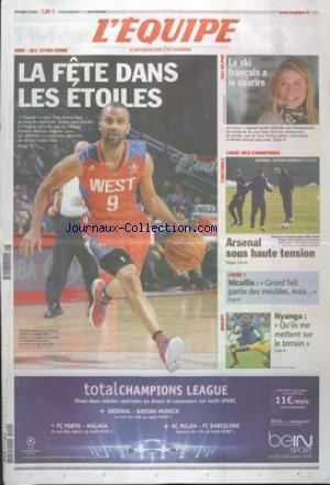 PARISIEN MAGAZINE (LE) [No 21292] du 22/02/2013