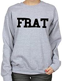 Frat Boy College Varsity Style Womens Hipster Sweatshirt