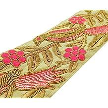 Tela bordada del ajuste de costura del cordón Elaboración de 8,12 cm de ancho Suministros Por 1 Yard