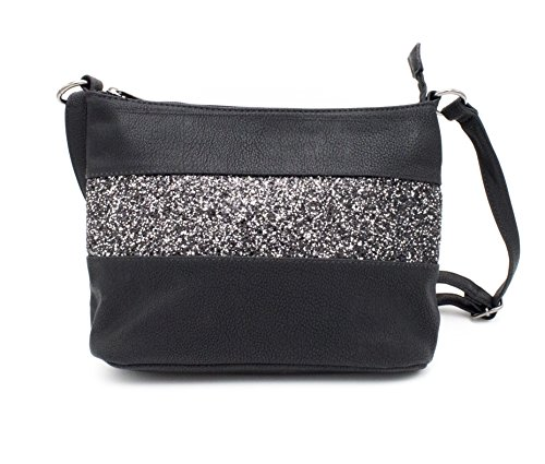 Gallantry-sac Schulter Frau Paillette Tasche (Schwarz 1) (Gucci Tasche Schulter Tasche,)