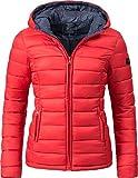 Marikoo Damen Winter-Jacke Steppjacke Lucy Rot Gr. XS