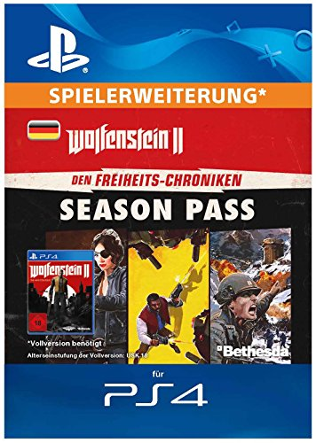 Wolfenstein II: The New Colossus - Freedom Chronicles Season Pass | DLC | PS4 Download Code - deutsches Konto