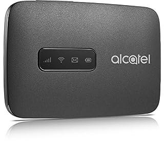 Alcatel MW40V-2AALDE1 LinkZone Mobile Internet (150 Mbps, Wifi Hotspot, 4G LTE cat4) schwarz