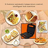 Best Grills Eléctricos - Uemaker Sandwich Toaster Maker Home Acero Inoxidable Multi Review