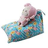 MRXUE Kinder Plüsch Weiche Spielzeug-Aufbewahrungstasche Bohnenbeutel, Große Perfekte Lagerlösung 65 * 95 * 55 cm Kleiner Vogel