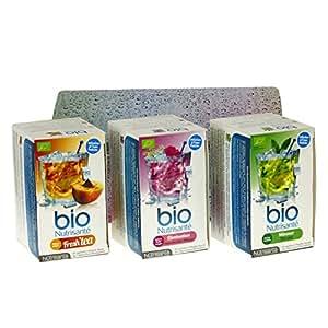NUTRISANTE Coffret Infusions Froides 3 boîtes de tisanes + boîte collector OFFERTE