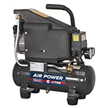 Sealey SAC0610E 6ltr Direct Drive Compressor 1hp