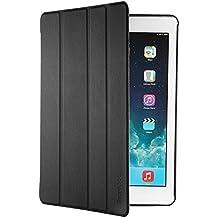 iPad Air 2 Hülle, EasyAcc Ultra Slim iPad Air 2 Hülle Case Cover Schutzhülle Bumper Lederhülle Flip mit Standfunktion / Auto Sleep Wake up für iPad Air 2 / ipad 6 - Schwarz, Ultra Slim