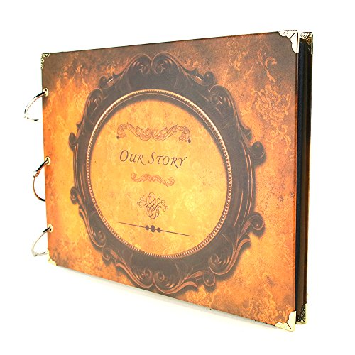 scrapbook-vintage-self-adhesive-photo-album-come-with-photo-mounting-corners-accessories-memory-book