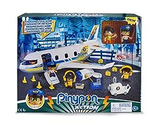 Pinypon Action- Emergencia en el avión con Dos Figuras y de Accesorios, para niños y niñas de 4 a 8 años, (Famosa 700015149)