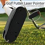 Golf Putting Trainers Golf Ayudas para el entrenamiento, Rangefinder Golf Putter Golf Entrenamiento de golf, arregle su colocación en pocos segundos, herramienta Convenientes accesorios de golf