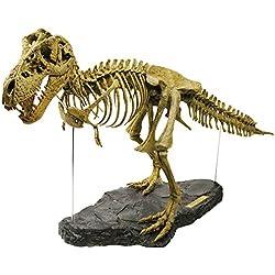 Geoworld CL066K Tirannosaurus Rex - Puzzle de esqueleto de dinosaurio en 3D (54 piezas, 71 cm) [importado de Alemania]