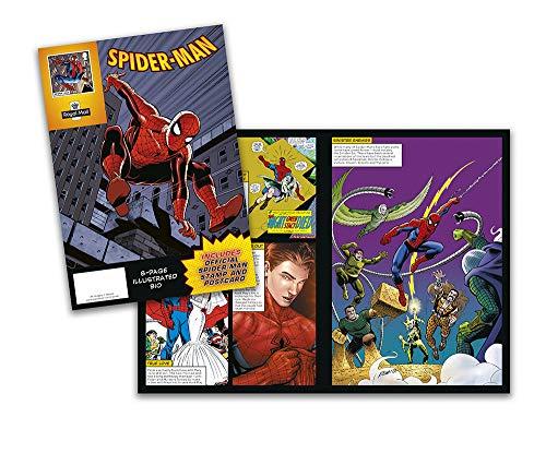 Marvel Spiderman Mini Comic (Lego Spider Man Black)