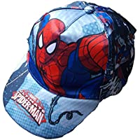 CAPPELLO ESTIVO SPIDERMAN MARVEL SUPEREROE CON VISIERA TAGLIA UNICA - 45367/1