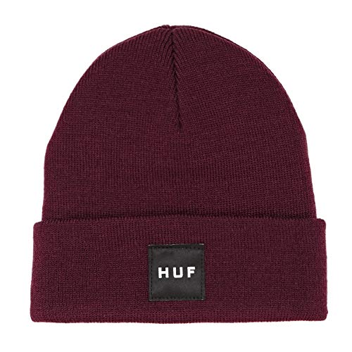HUF Box Logo Beanie One Size Port Royale
