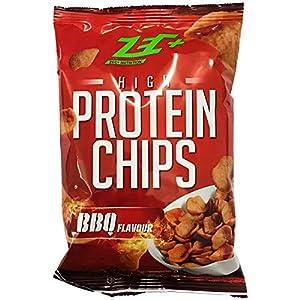 ZEC+ PROTEIN CHIPS | HIGH Protein | 50% weniger Fett | VEGAN | Tüte | Barbeque