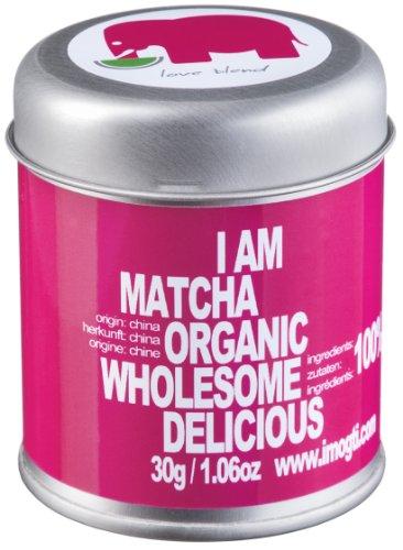 *SOMMERAKTION* 30g Original BIO & VEGAN Matcha Starter Set – Markenprodukt von imogti – DLG Prämiert 2016 – (30g original Bio Matcha + Original Matcha Bambusbesen + Matcha Löffel geschenkt)