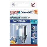 tesa Powerstrips large, waterproof, 6 Stk. -wasserfeste Selbstklebestrip