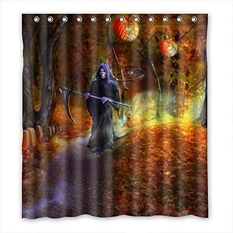 doubee Custom Halloween de Salle de Bain étanche Rideau de douche PEVA 167cm x 183cm, 167,6x 182,9cm, polyester, - D, 66