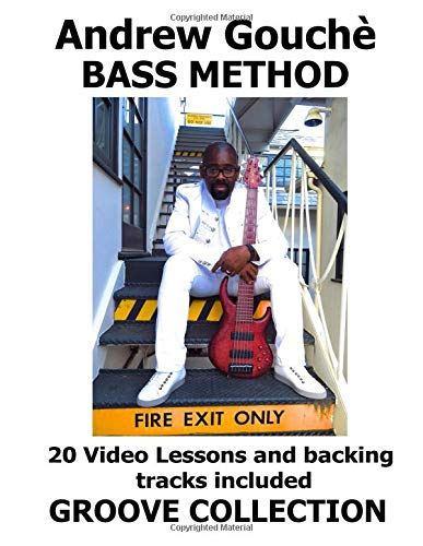 Andrew Gouchè Bass Method: Grooves From The Soul Bass Lessons is a collection of 20 of my best Grooves. 40 VIDEOS AND  backing tracks are included, check description. (Guitar Maestro Acoustic)
