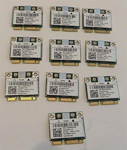 Dell 86RR6 Wireless 1504 DW1504 WiFi 802.11 b/g/n Mini-PCI Express Karte, halbe Höhe (Dell Wireless Karte)