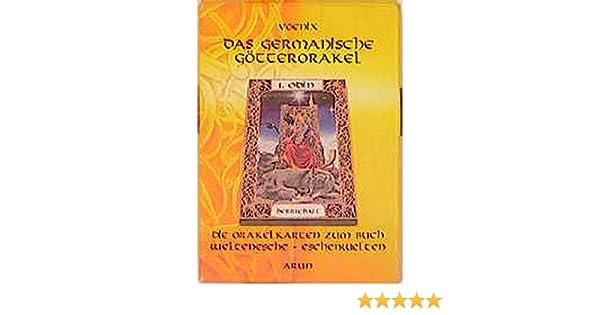 Das Germanische Götterorakel Kartenset Zum Buch Weltenesche