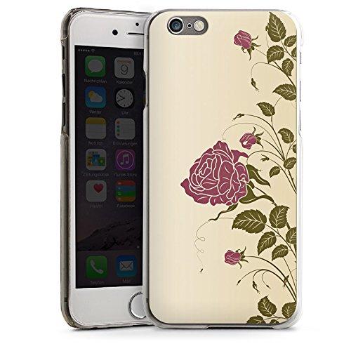 Apple iPhone 5 Housse Étui Silicone Coque Protection Roses Roses Roses CasDur transparent