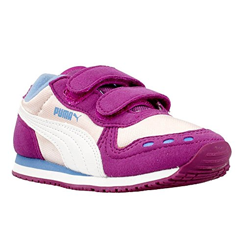 Puma - Cabana Racer Kids - 35637318 - Couleur: Beige-Rose - Pointure: 27.0