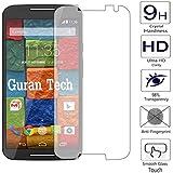 Guran® Protector de Pantalla Vidrio Cristal Templado Para Moto X 2ª Generación Smartphone Film