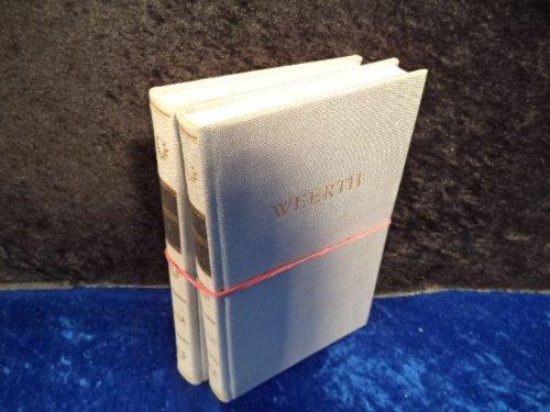 Weerths Werke in zwei Bänden [hier: 2 Bände = komplett].