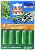 Parodi & Parodi Lindo Stick désodorisant aspirateur Pin 5pièces, Tissu, Vert, 11x 17x 1cm, 5unité